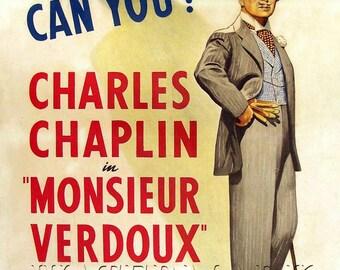 Charlie Chaplin - Chaplin Wall Art - Charlie Chaplin Movie - Charlie Chaplin Print - Movie Art - Movie Lover - 11x17 (JS1278)