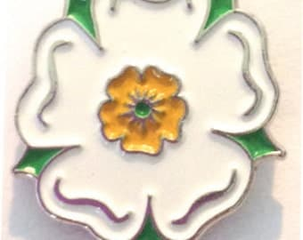 Yorkshire Rose Enamel Pin Badge