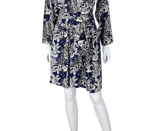 YVES SAINT LAURENT Rive Gauche Henri Matisse Print Dress (42)