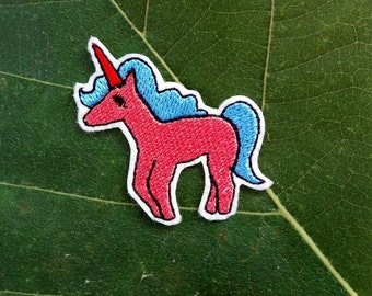 Cute Unicorn - Iron on Patch