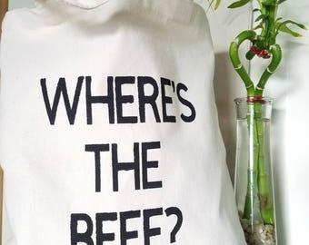 Cotton Canvas Tote Bag, Funny Tote Bag, Birthday Gift, Shopping Bag, Farmers Market Bag, Eco-Friendly Bag, Reusable Bag, Funny Gift, 100%