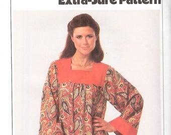 Vintage 70s Caftan Pattern//Retro Bohemian Style//Simplicity 8752
