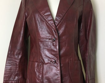 1970's Leather Jacket by Wilson Suede and Leather