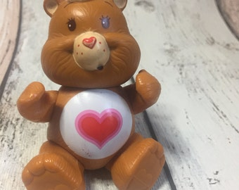 Posable Tenderheart Bear - 1982 - Care Bear