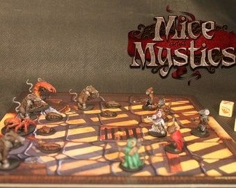 Mice and Mystics Painted Miniatures