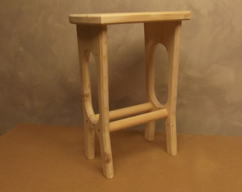Stool, suitable for the kitchen, dining room, bedroom, desk or use as a side table