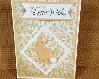 Easter Card - Easter Bunny Card - Easter Bunny Greeting Card