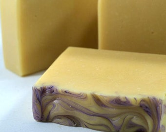 Homemade Soap - Chamomile Lavender Soap - Tres Leches - Artisanal Soap - Natural Soap - Gifts Under 10 - Gifts For Her - Bridesmaids Gifts