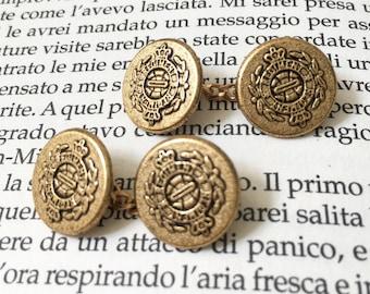 Chain cufflinks vintage emblem