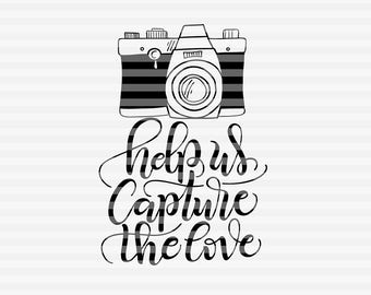 1962+ Capture The Love Svg File by CalaDesign