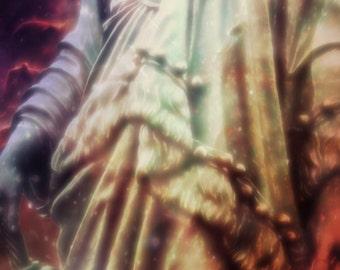Columbia | Goddess | Liberty | America | Digital Painting | Canvas