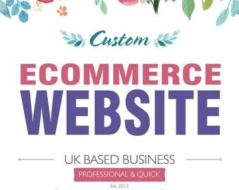 Ecommerce Website, Custom Ecommerce Website. Wordpress Website, Wordpress Ecommerce Website, Woocommerce, Shopping Website, Web Design