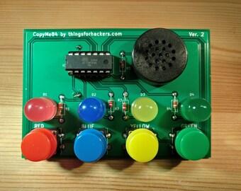 Diy kits etsy uk simon says electronic game kit solutioingenieria Images