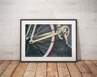 Urban Photography, Art, Unique Photography, Wall Art, Bike
