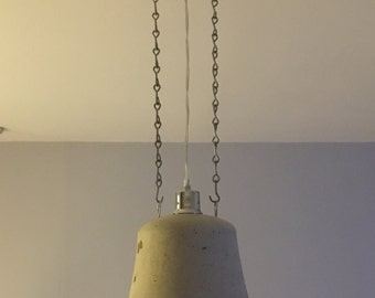 Concrete lighting pendant
