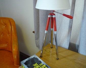 Upcycled Tripod Desk Lamp-Prinz Tripod-Japan