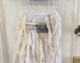 Beachside wall weaving