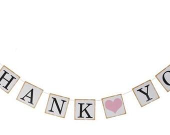 THANK YOU Sign, Thank You Banner, Thank You photos, Wedding Sign, Wedding Decoration