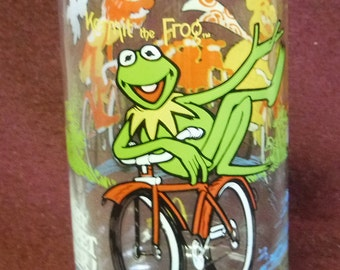 McDonalds Glass - The Great Muppet Caper - Kermit The Frog