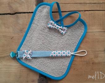 Bib baby bow tie