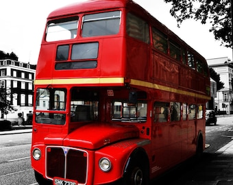 London Bus A4/A3 with/without frame