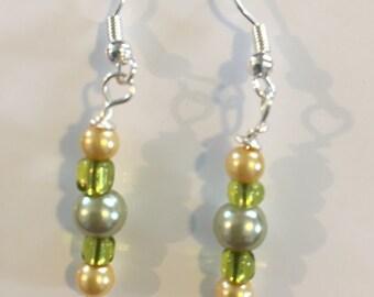 Spring Daffodils earrings
