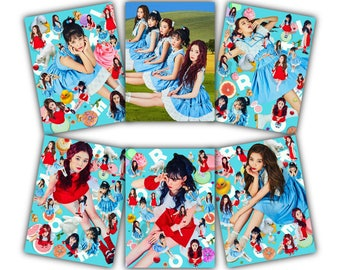 Red Velvet Photo Prints: Rookie // Kpop Fanmade Merchandise