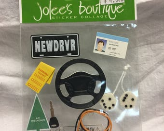 Jolee's Boutique New Driver Stickers