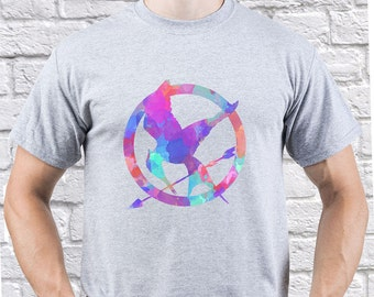 The Hunger Games/ Mockingjay/ Mockingjay Eagle/ men tshirt/ Mockingjay tshirt/ Mockingjay shirt/ Mockingjay Symbol/ Mockingjay tee/ (HG04)