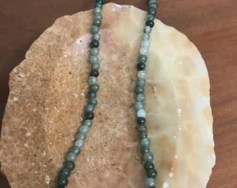 Jade Pearl Necklace
