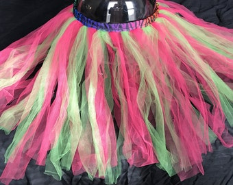 Pink and Neon Green Tutu