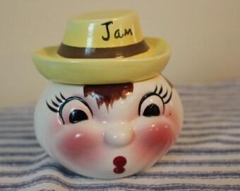 Rare Vintage Jam Jar