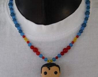 Superman necklace.