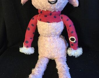 Pink sweet dog