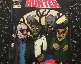 Wolf Hunter # 1 Comic by Sparkle Comics