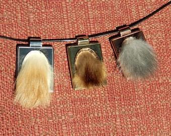 More Fur Pendants