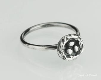 Sterling Silver Bird Nest Ring Solid .925 Bird's Nests Custom Sizes