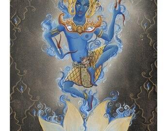 Blue Apsara