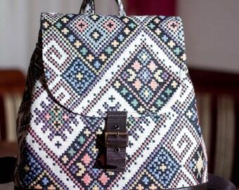 Backpack - ethno style