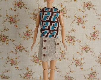 Momoko top and skirt