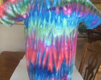 Unique Ice Dyed Shirt Size Large