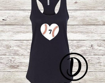 Baseball Tank top  | team tank top | sports tank top | sports shirt | baseball mom shirt | baseball mom tank top | baseball wife shirt |