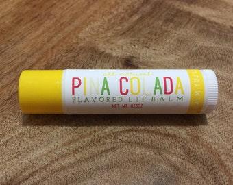 PINA COLADA Lip Balm - All Natural - Homemade