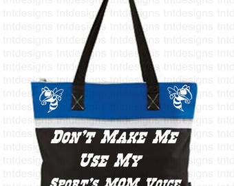 SPORT BAG that can be done in your school colors and mascot
