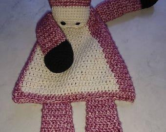 Crochet rag doll Unicorn/horse