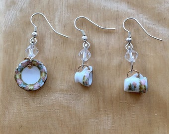 Teacup and Saucer Earrings