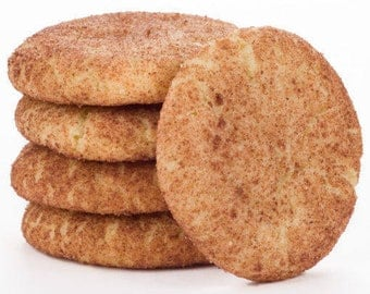 One Dozen Snickerdoodle Cookies