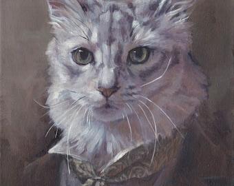 Pet Portrait Commissions (Acrylics on stretched canvas)