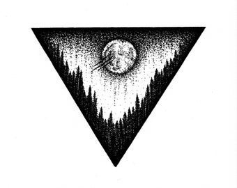Triangle Forest (Print)