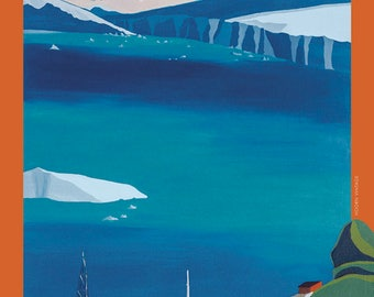 Antarctica poster – Paradise Harbour